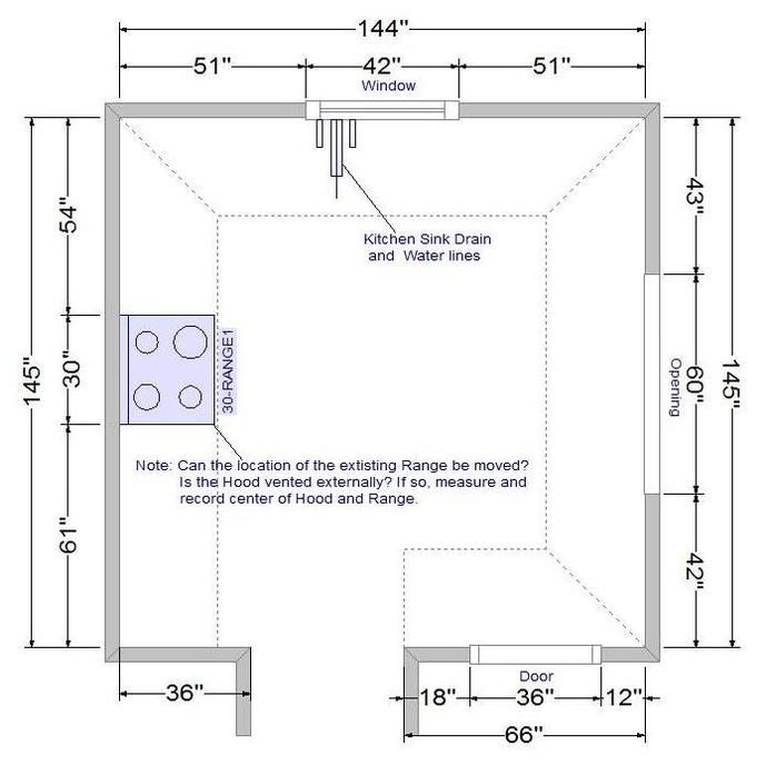 How Do I Measure My Kitchen or Bathroom
